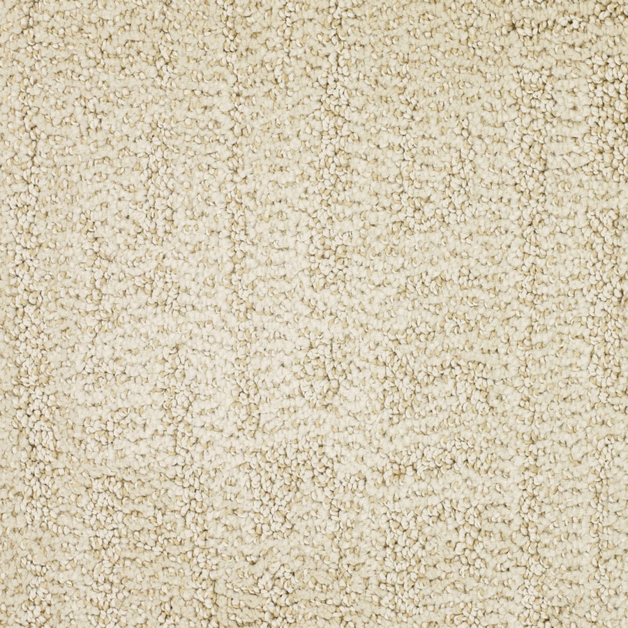 STAINMASTER TruSoft Regatta Yellow/Gold Cut and Loop Indoor Carpet