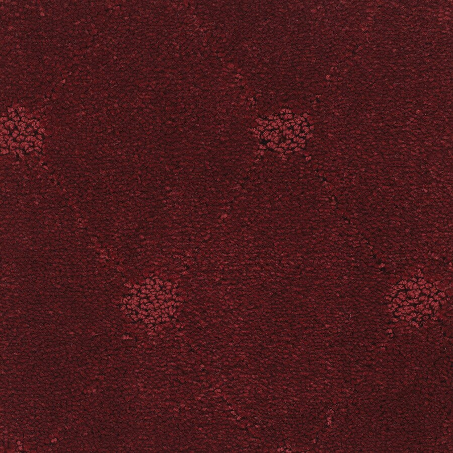STAINMASTER TruSoft Columbia Valley Red/Pink Cut and Loop Indoor Carpet