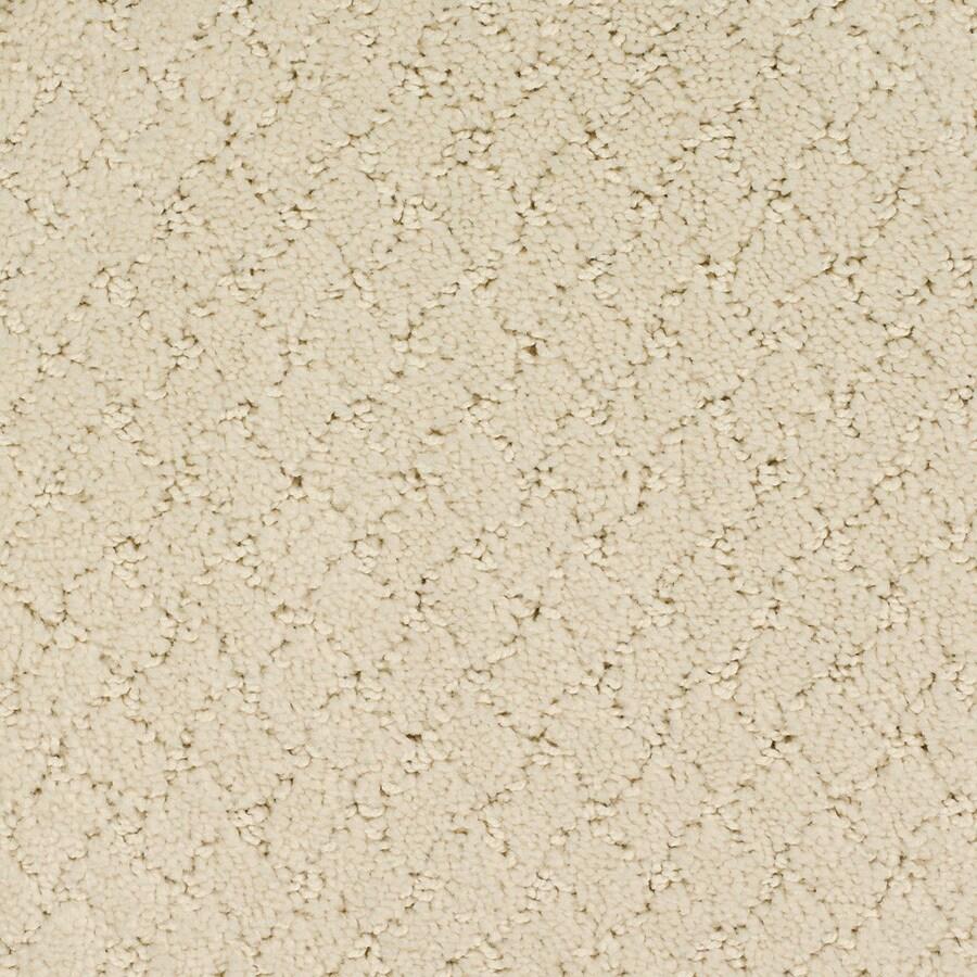 STAINMASTER Dutch Cream Rectangular Indoor Tufted Area Rug (Common: 6 x 9; Actual: 72-in W x 108-in L)