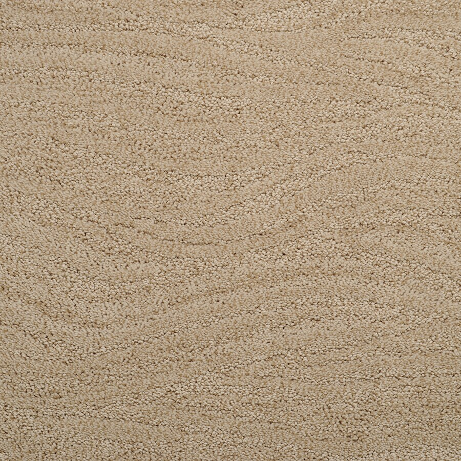STAINMASTER Active Family Rutherford Ripe Cane Cut and Loop Indoor Carpet