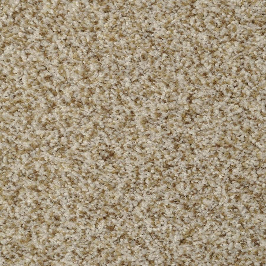 STAINMASTER Active Family On Broadway Oyster Bay Textured Indoor Carpet