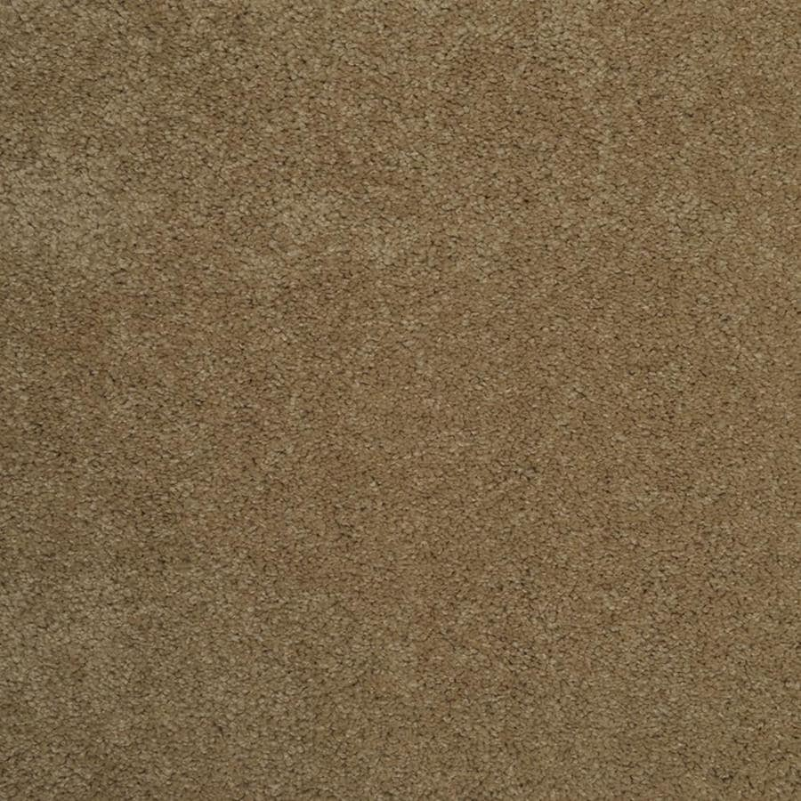 STAINMASTER TruSoft Best of Class Double Khaki Plush Indoor Carpet