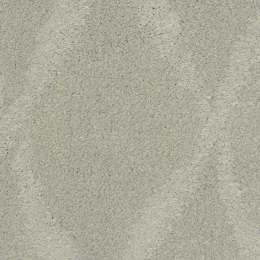 STAINMASTER Vineyard Manor Artic Sky Rectangular Indoor Tufted Area Rug (Common: 6 x 9; Actual: 72-in W x 108-in L)