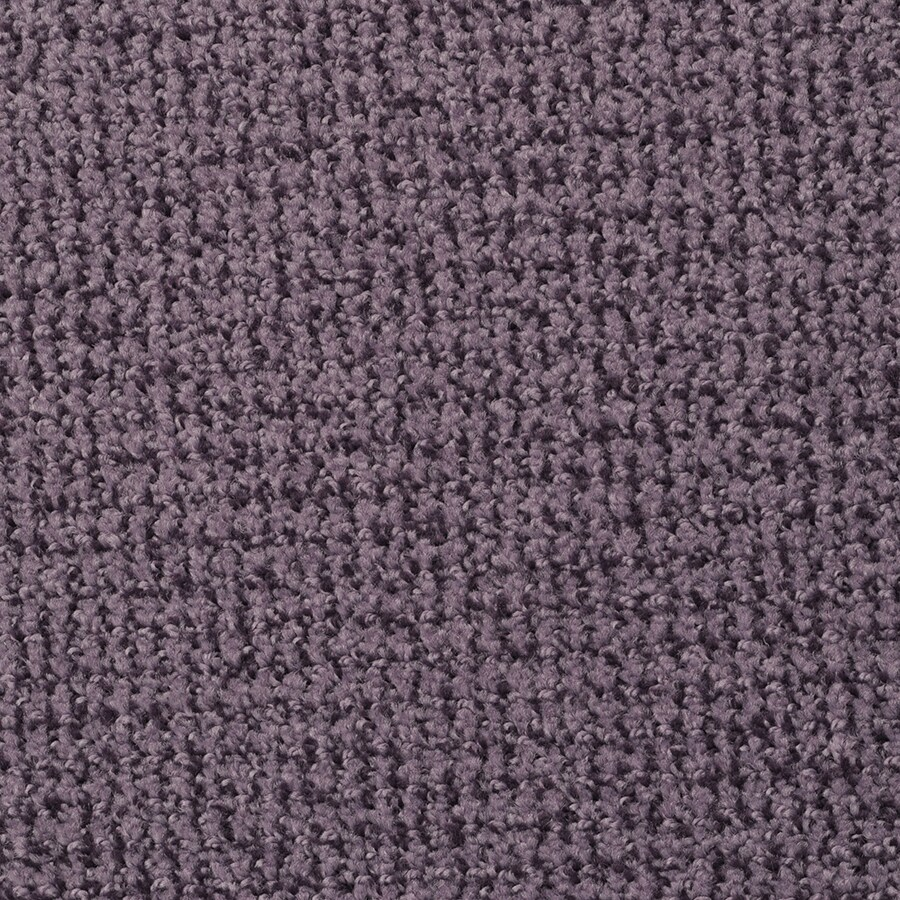 STAINMASTER Morning Jewel Deep Purple Rectangular Indoor Tufted Area Rug (Common: 6 x 9; Actual: 72-in W x 108-in L)
