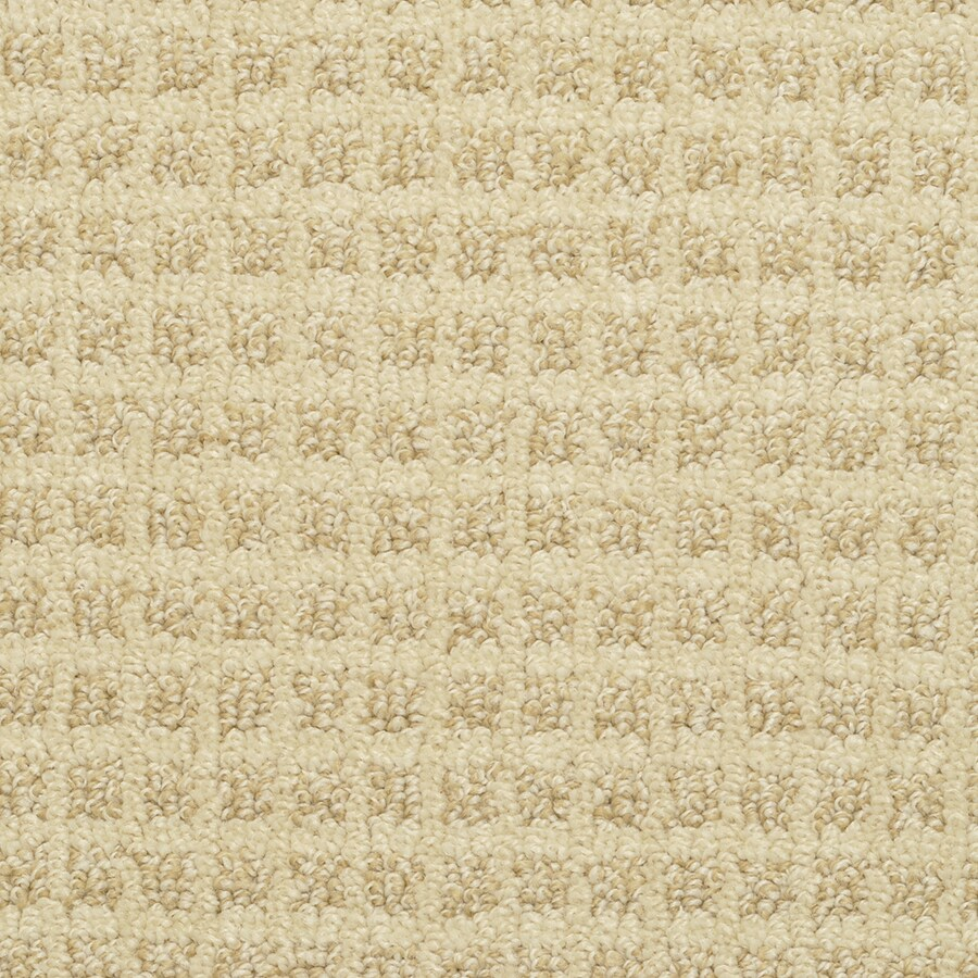STAINMASTER Medford Sunkissed Rectangular Indoor Tufted Area Rug (Common: 6 x 9; Actual: 72-in W x 108-in L)
