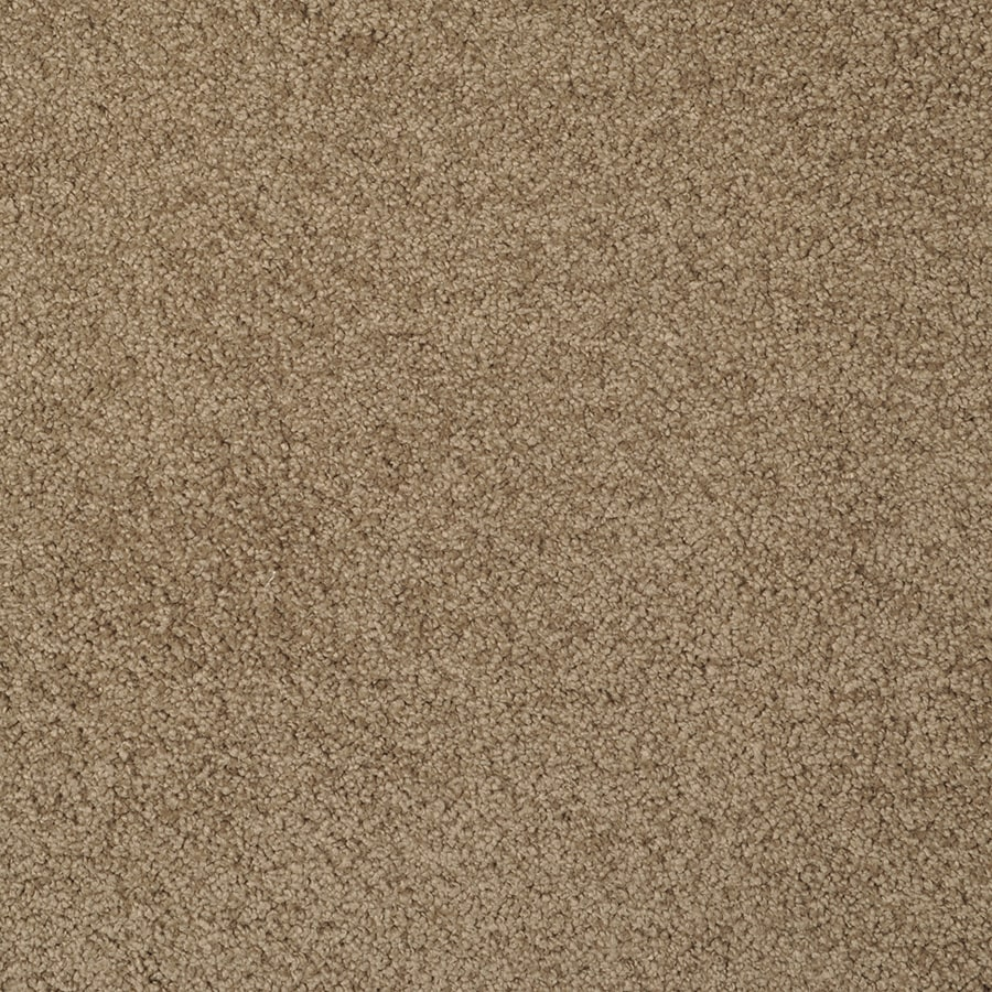 STAINMASTER Best Of Class Brown Log Rectangular Indoor Tufted Area Rug (Common: 8 x 10; Actual: 96-in W x 120-in L)