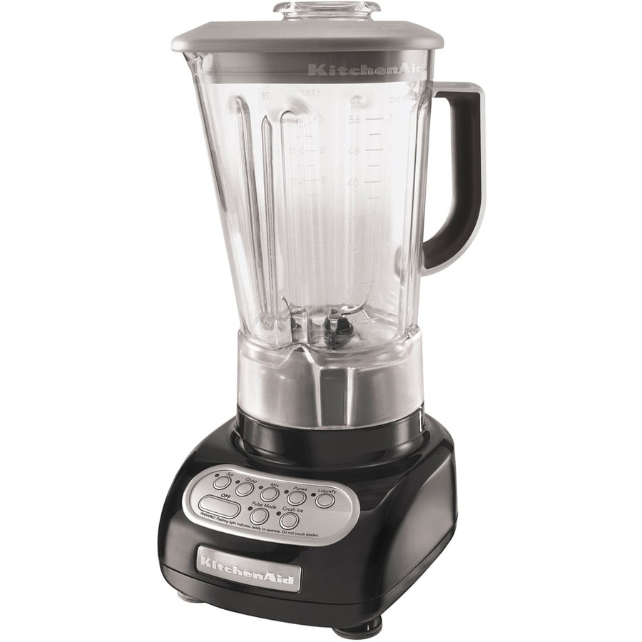KitchenAid 56-oz Onyx Black 5-Speed 600-Watt Pulse Control Blender