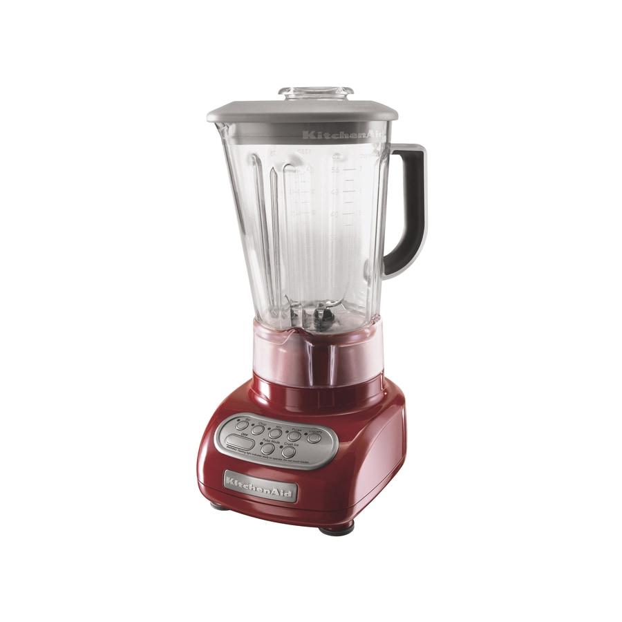KitchenAid 56-oz Empire Red 5-Speed Blender