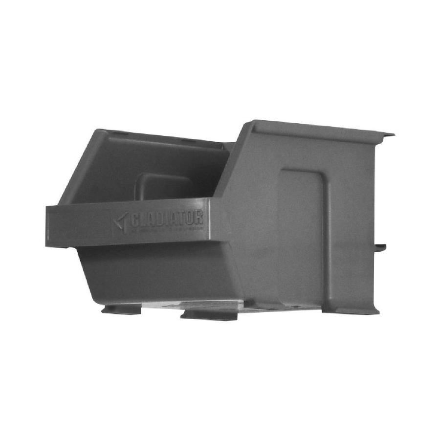 Gladiator 4.5-in W x 4-in H Gray Plastic Garage Storage Basket