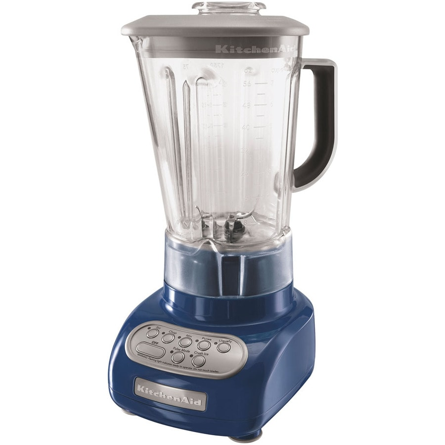 KitchenAid 56-oz Blue Willow 5-Speed Blender