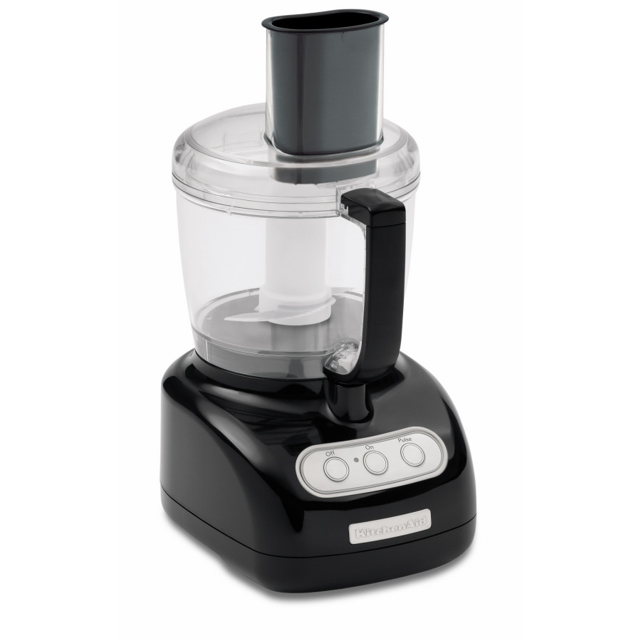 KitchenAid 7-Cup Onyx Black Food Processor
