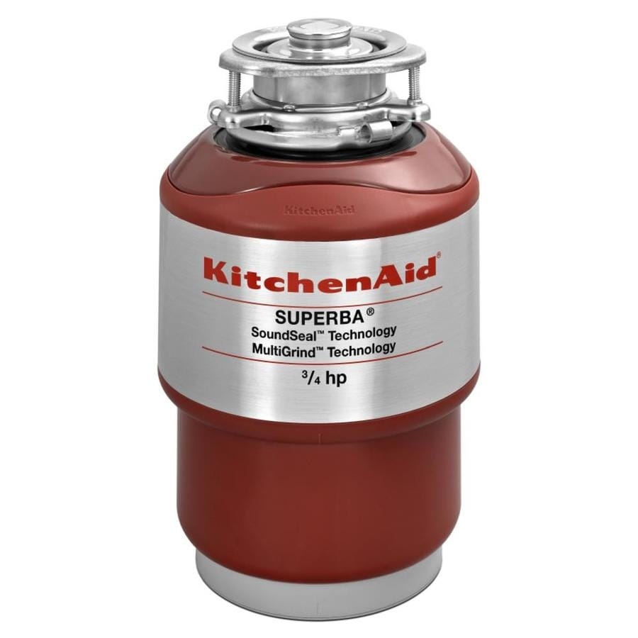 KitchenAid 3/4-Hp Noise Insulation Garbage Disposal