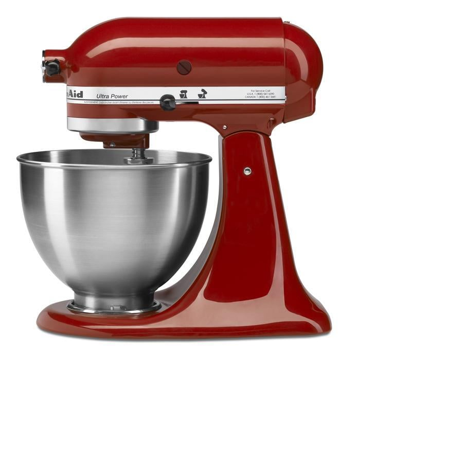 KitchenAid Ultra Power 4.5-Quart 10-Speed Empire Red Stand Mixer