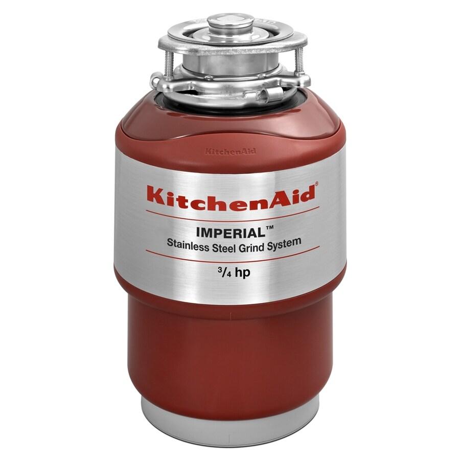 KitchenAid 3/4-HP Garbage Disposal with Sound Insulation