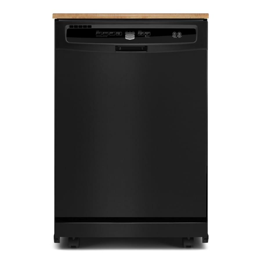 Portable Dishwashers At Lowe S : Shop maytag inch portable dishwasher color black
