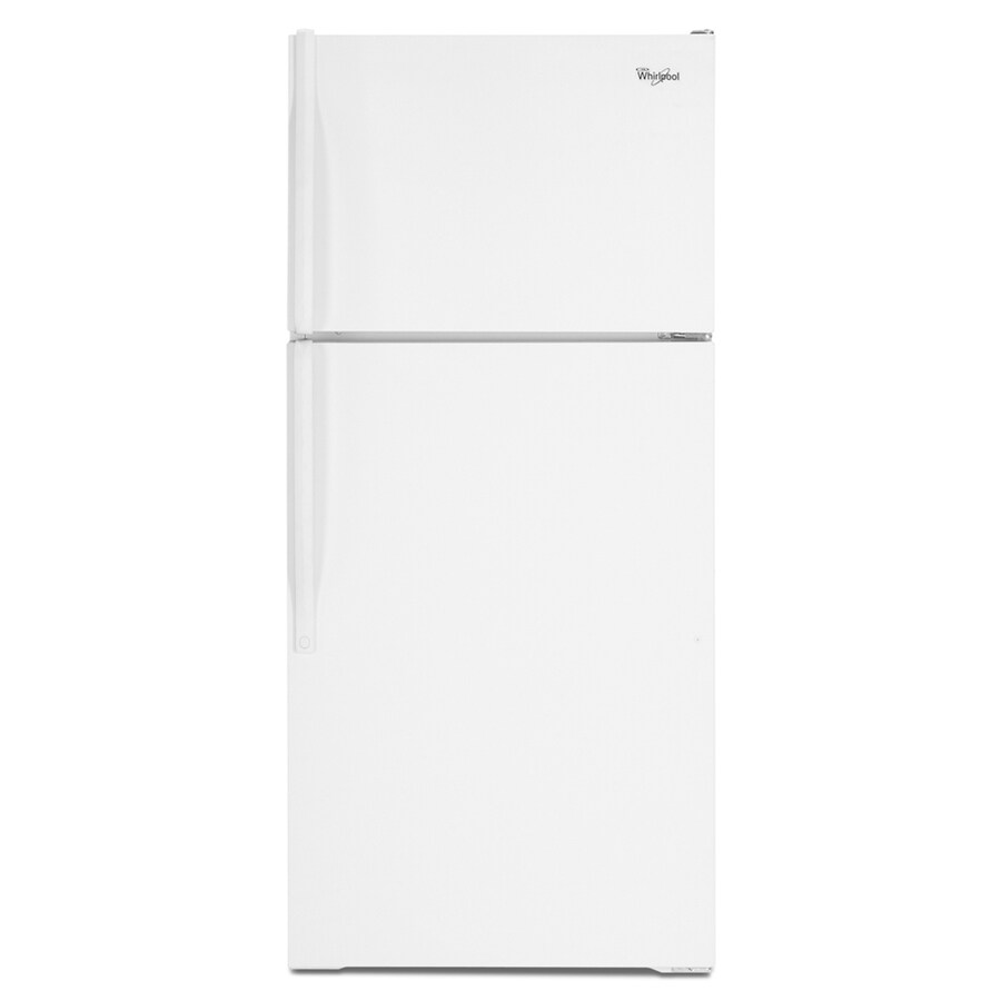 Whirlpool 14.4-cu ft Top-Freezer Refrigerator (White)