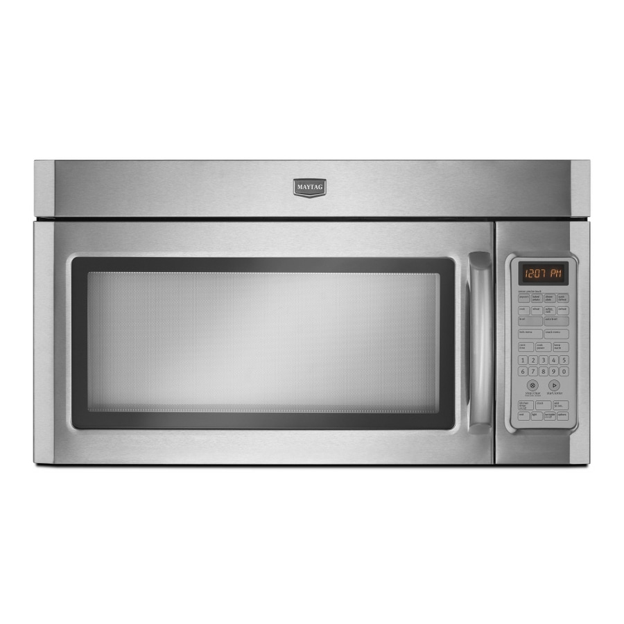 Maytag 1.8 cu ft Over-the-Range Microwave (Stainless Steel)