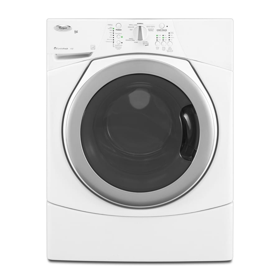 Whirlpool® 4.0 Cu. Ft. Duet® Front Load Washer (Color: White) ENERGY STAR®