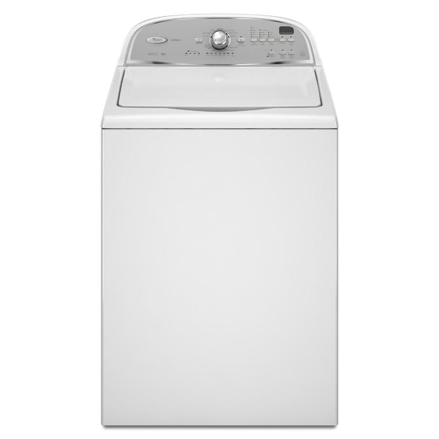 Whirlpool Cabrio 3.6-cu ft High-Efficiency Top-Load Washer (White) ENERGY STAR