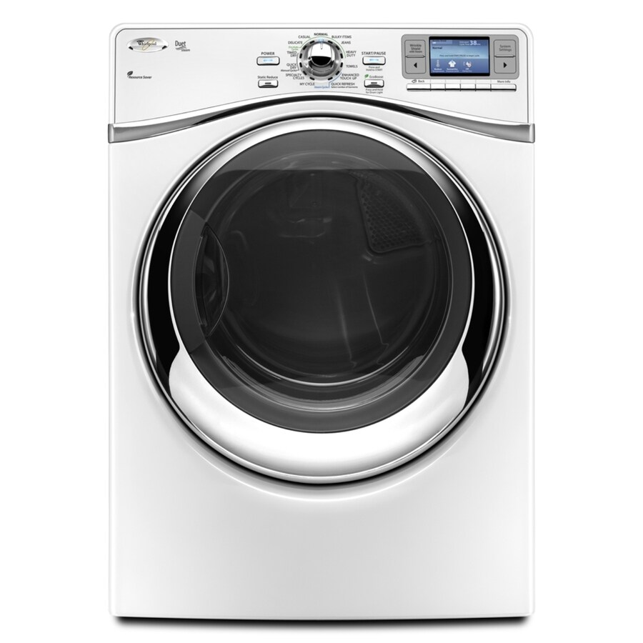 Whirlpool Duet 7.4 cu ft Gas Dryer (White)