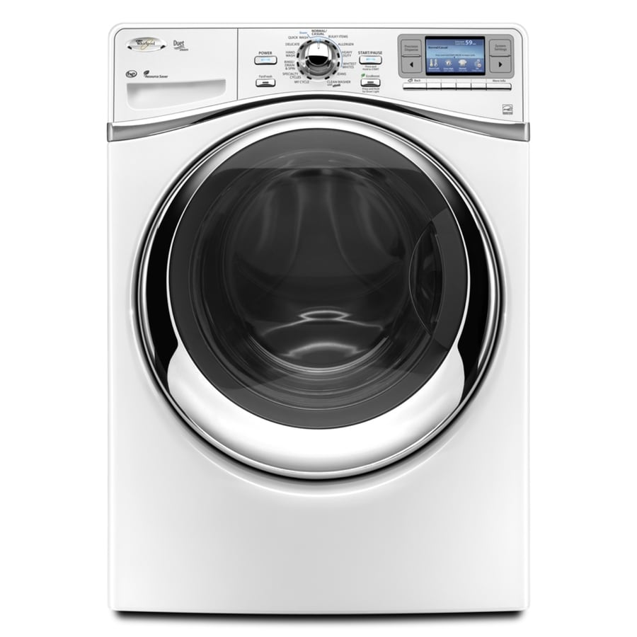Whirlpool Duet 4.3 cu ft High-Efficiency Front-Load Washers (White) ENERGY STAR