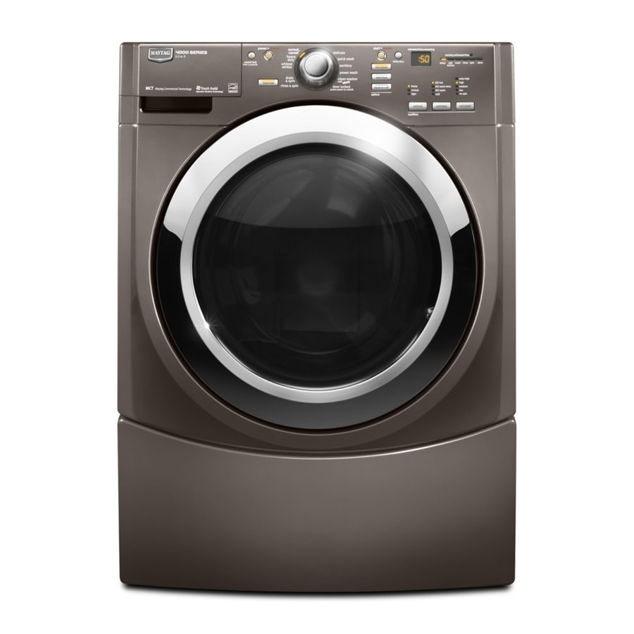 Maytag 3.9 Cu. Ft. Stackable Front-Load Washer (Oxide) ENERGY STAR