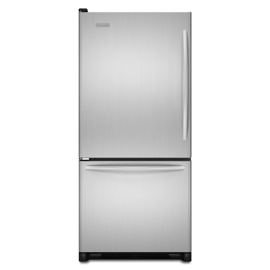 KitchenAid Architect II 18.5-cu ft Bottom-Freezer Refrigerator (Stainless) ENERGY STAR