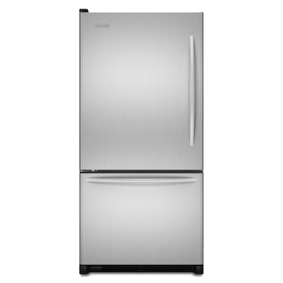 KitchenAid Architect II 21.9-cu ft Bottom-Freezer Refrigerator (Stainless) ENERGY STAR