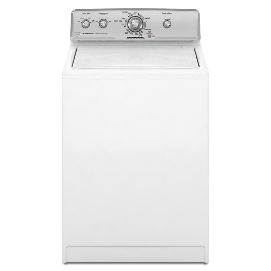 Maytag Centennial 3.4-cu ft Top-Load Washer (White)