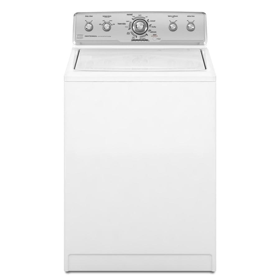Maytag Centennial 3.6-cu ft High-Efficiency Top-Load Washer (White)