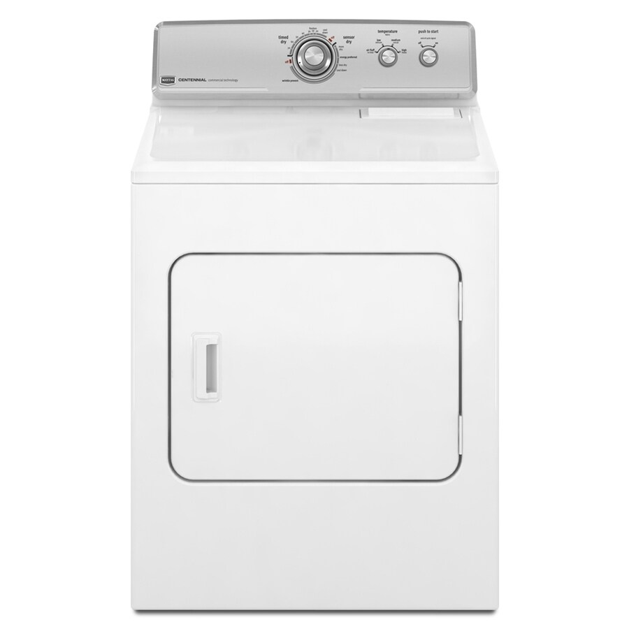 Maytag 7 cu ft Gas Dryer (White)
