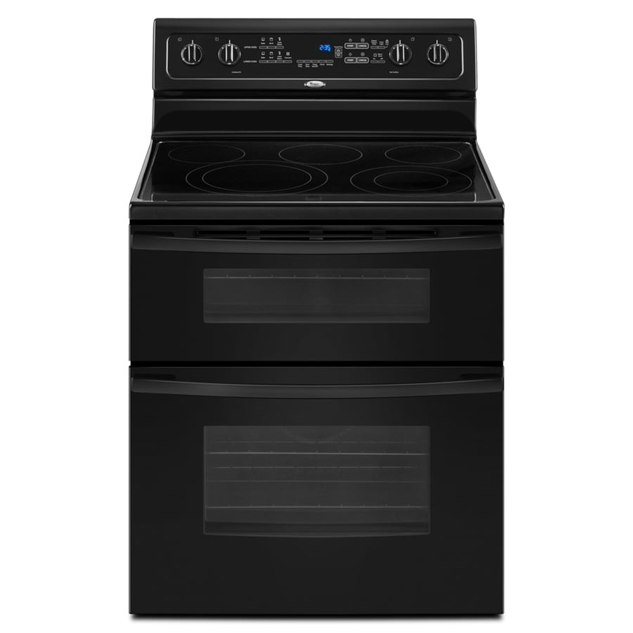 Shop whirlpool gold 30 in smooth surface 5 element 2 5 cu ft 4 2 cu ft