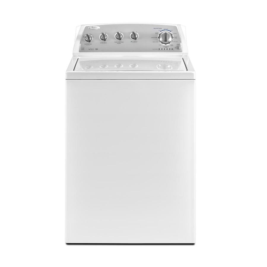 Whirlpool 3.6-cu ft High-Efficiency Top-Load Washer (White)