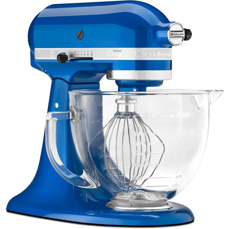 KitchenAid Artisan Design Series 5-Quart 10-Speed Electric Blue Stand Mixer