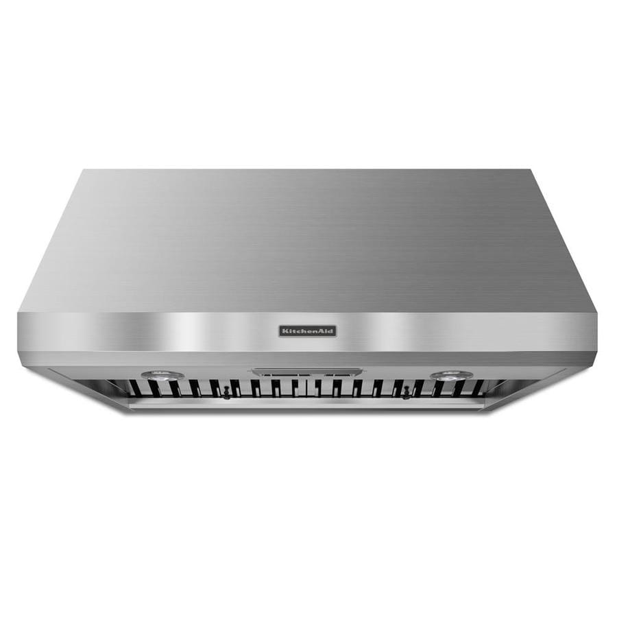 KitchenAid Ducted Wall-Mounted Range Hood (Stainless Steel) (Common: 36-in; Actual: 36-in)