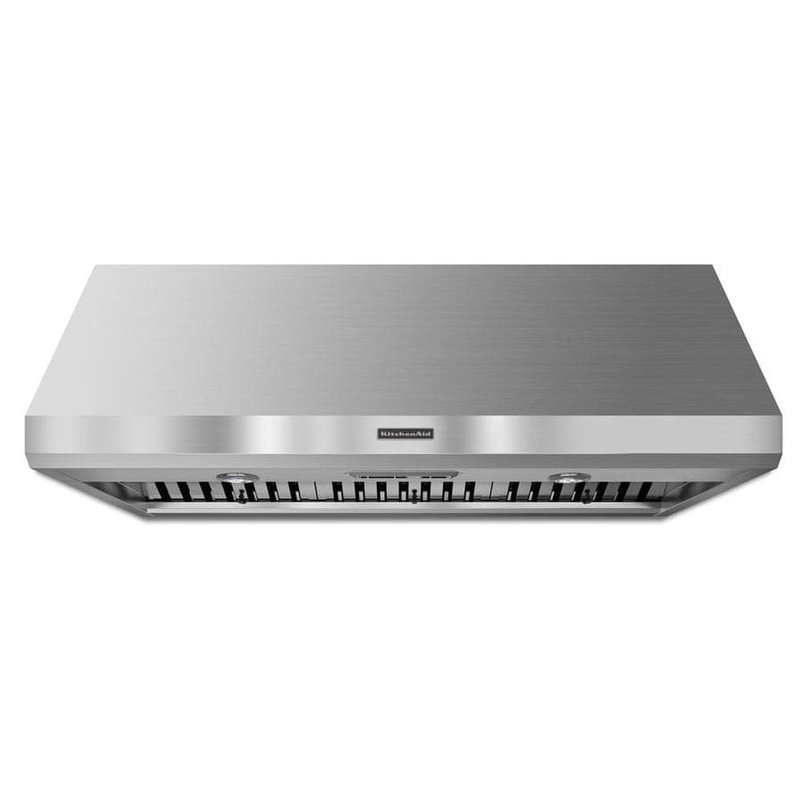 KitchenAid Ducted Wall-Mounted Range Hood (Stainless Steel) (Common: 48-in; Actual: 48-in)