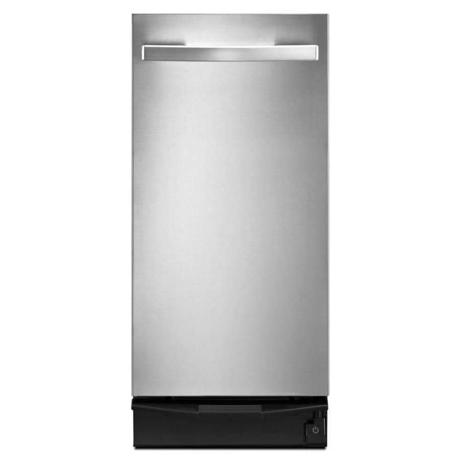 Shop Whirlpool 15-in Stainless Steel Undercounter Trash