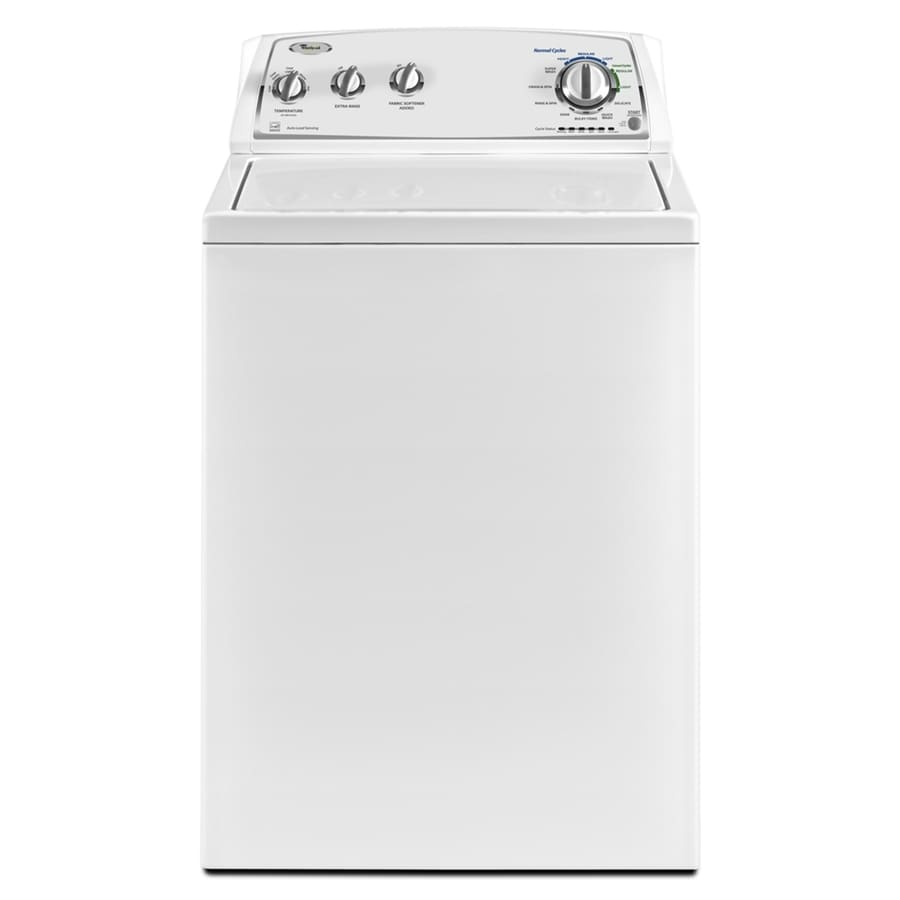 Whirlpool Cabrio 3.4-cu ft High-Efficiency Top-Load Washer (White) ENERGY STAR