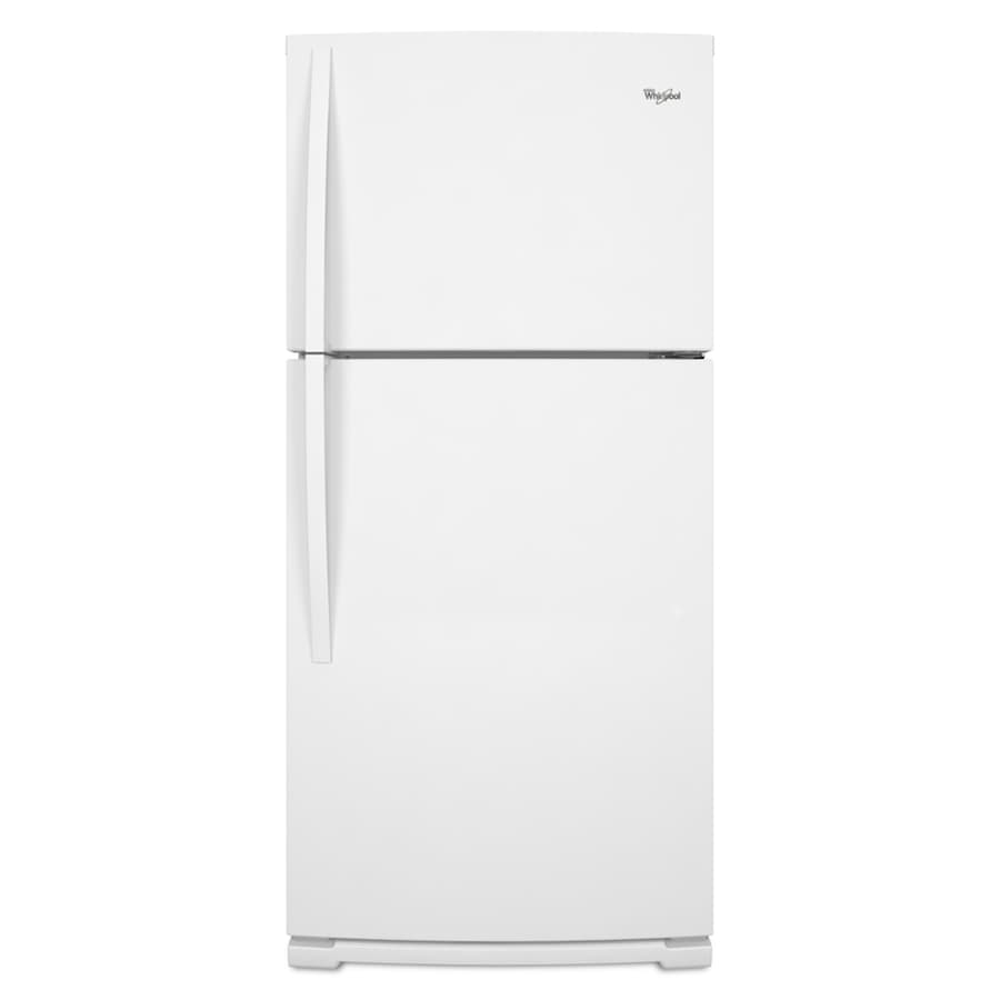 Whirlpool 18.9-cu ft Top-Freezer Refrigerator (White) ENERGY STAR