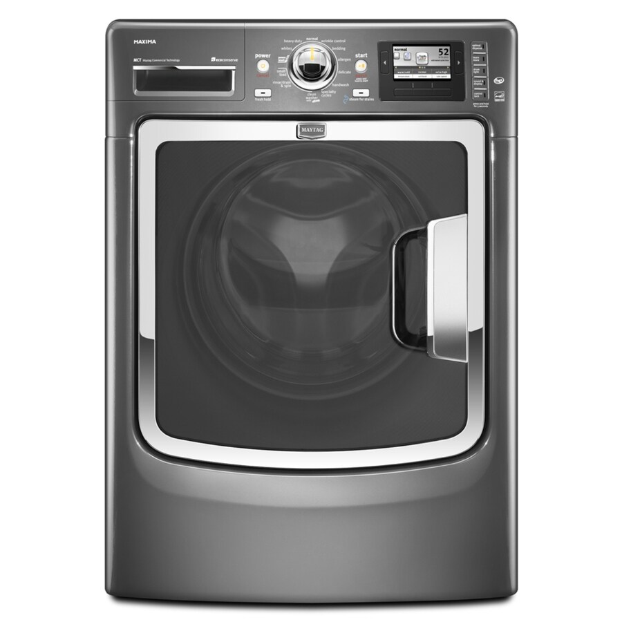 Maytag Maxima 4.3 cu ft High-Efficiency Front-Load Washers (Granite) ENERGY STAR
