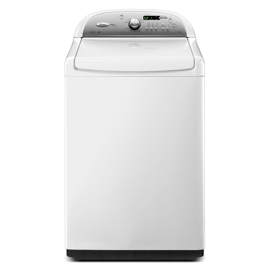 Whirlpool Cabrio Platinum 4.6-cu ft High-Efficiency Top-Load Washer (White) ENERGY STAR