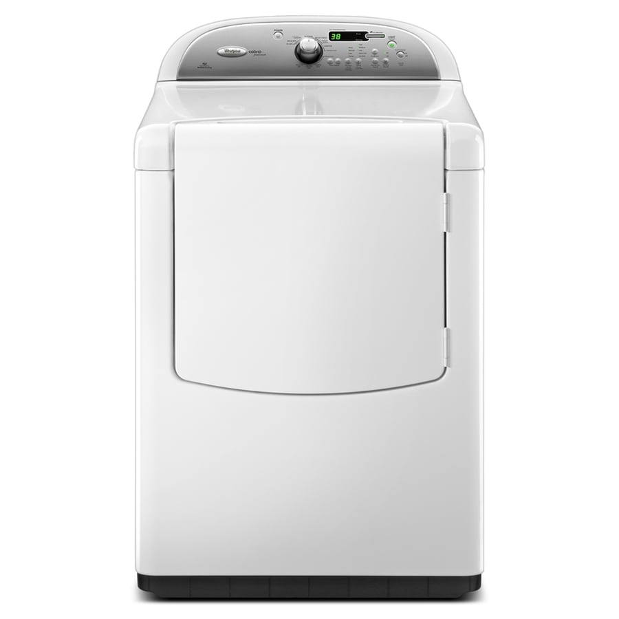 Whirlpool Cabrio Platinum 7.6-cu ft Gas Dryer (White)