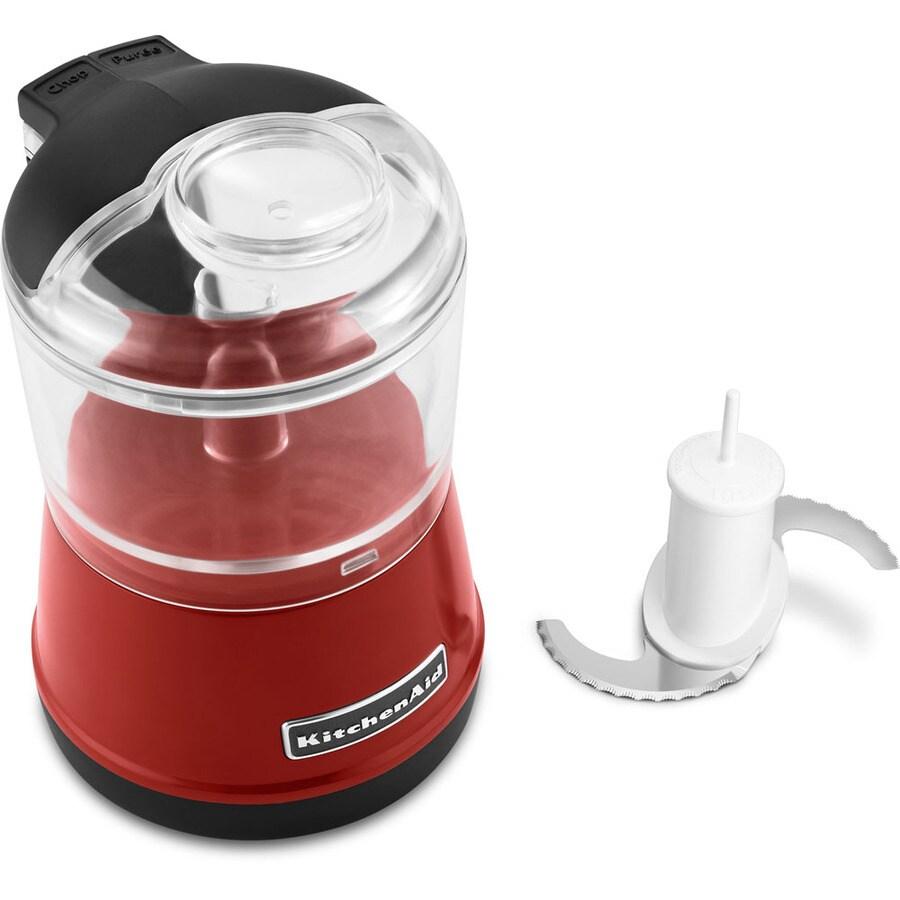 KitchenAid 3.5-Cup 240-Watt Empire Red Mini Food Chopper