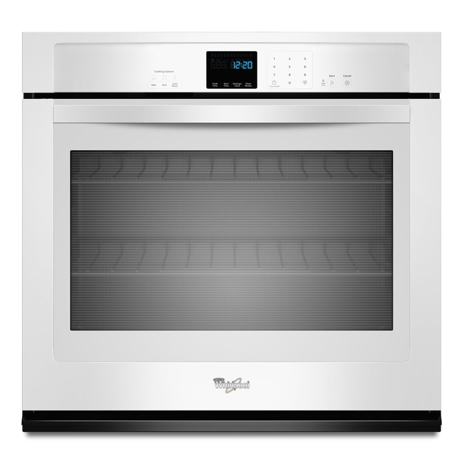 Whirlpool Single Electric Wall Oven (White) (Common: 30-in; Actual 30-in)