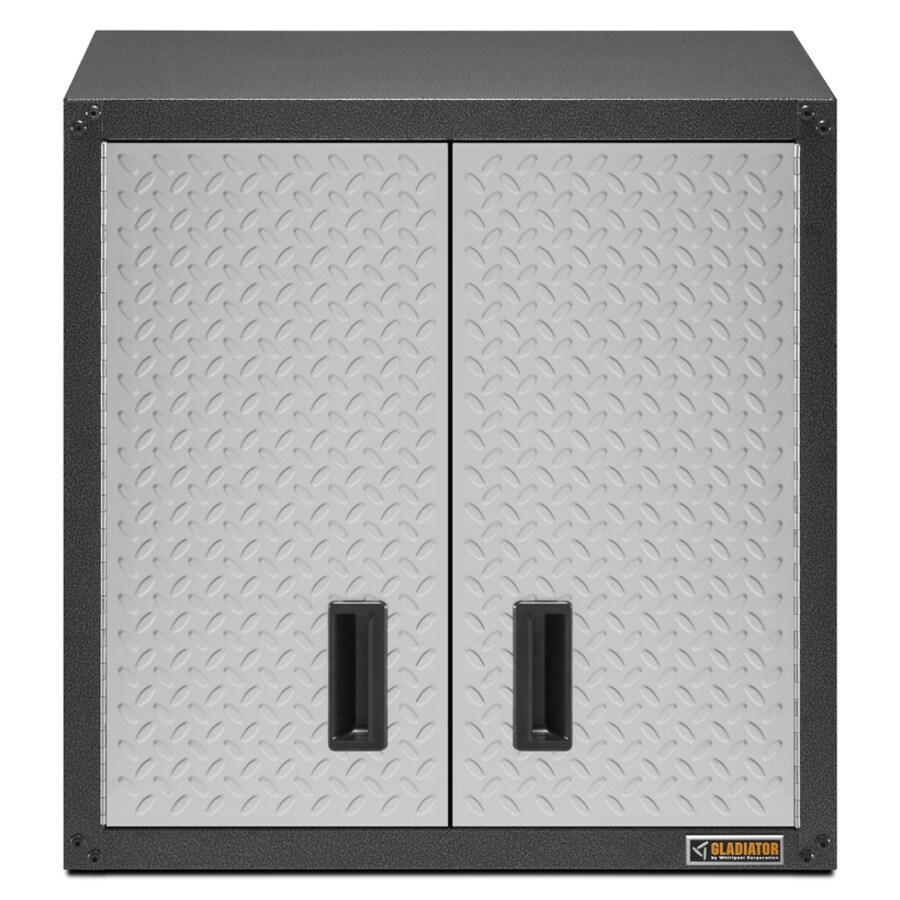 Gladiator 28-in W x 28-in H x 12-in D Steel Wall-Mount Garage Cabinet