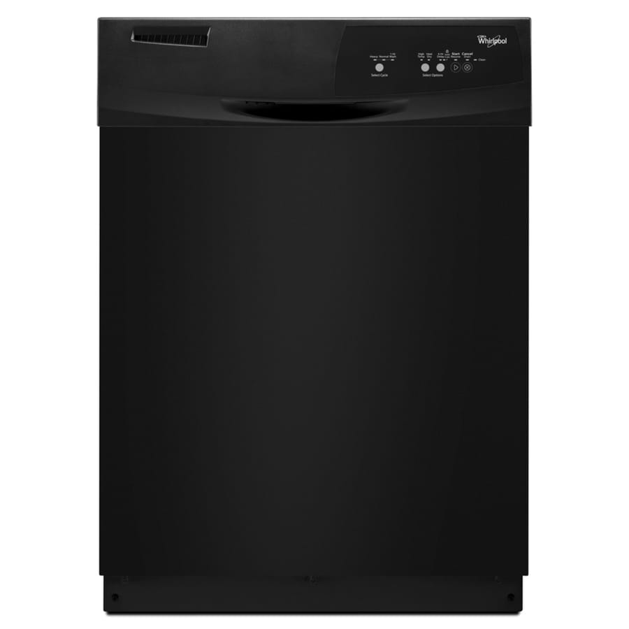 Whirlpool 59-Decibel Built-In Dishwasher (Black) (Common: 24-in; Actual 23.875-in) ENERGY STAR