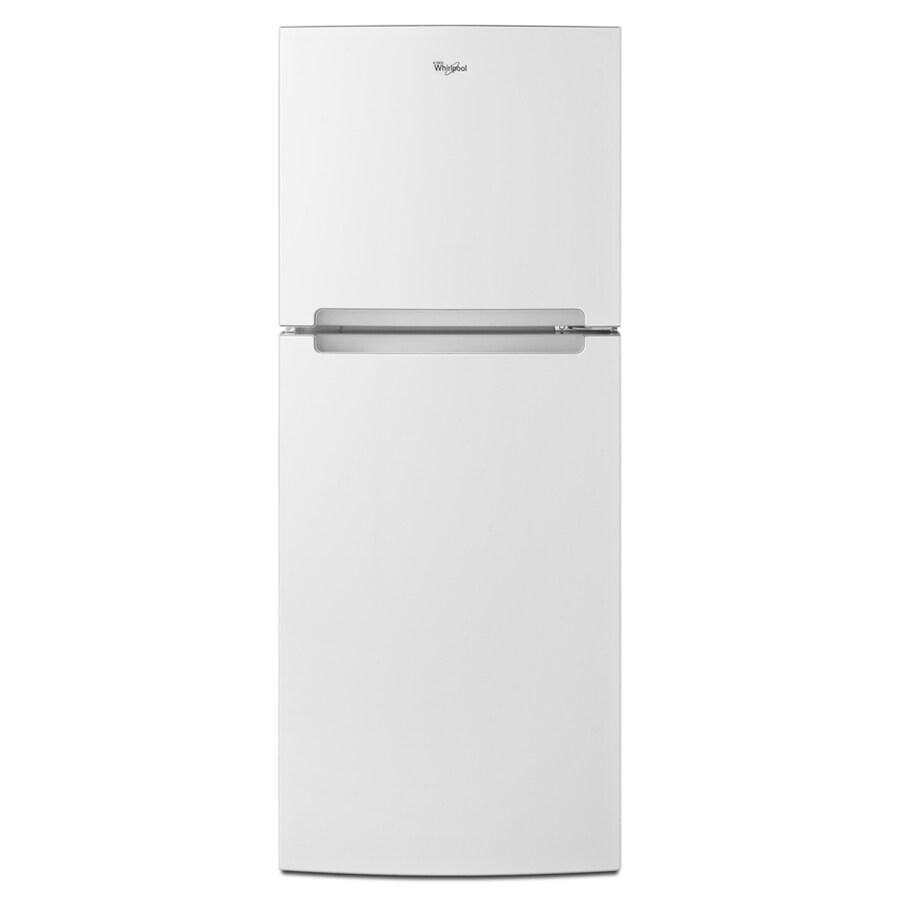 Whirlpool 10.72-cu ft Top-Freezer Refrigerator (White)