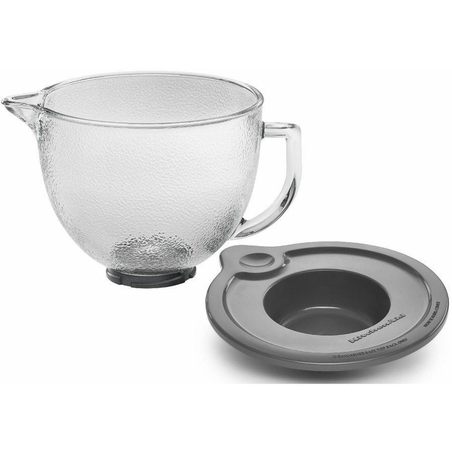 Shop kitchenaid stand mixer glass bowl at - Kitchenaid glass bowl attachment ...