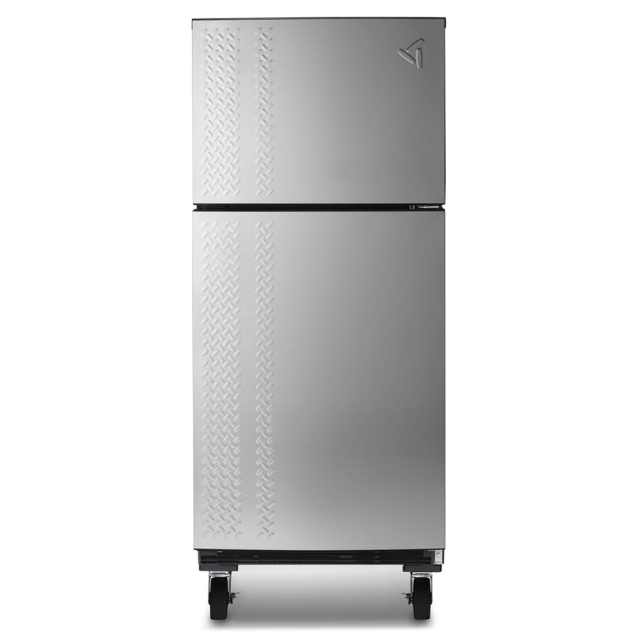 Shop Gladiator 19 Cu Ft Top Freezer Refrigerator Silver