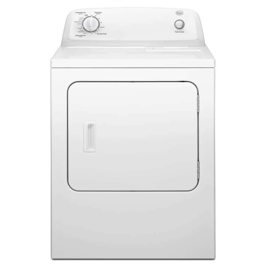Roper 6.5-cu ft Electric Dryer (White)